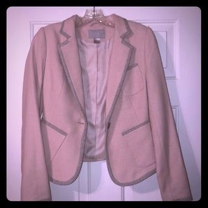 Blush pink H&M blazer